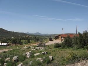 Ramona Valley looking West