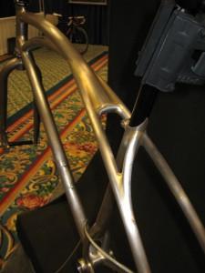 Fillet brazed top tube at seat post
