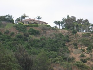 House overlooking Fairbanks Ranch Stables