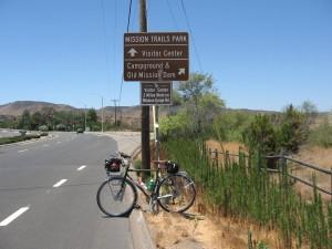 Sign to Father Junipero Serra Trail