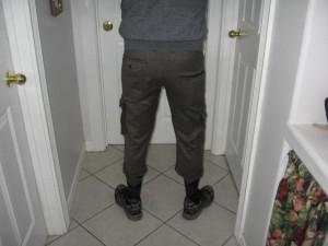 Custom Knickers Rear View