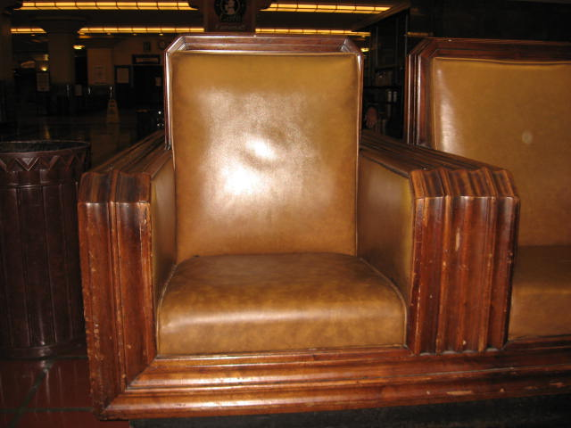 Seating in Union Station