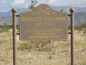 Galleta Meadows Estates