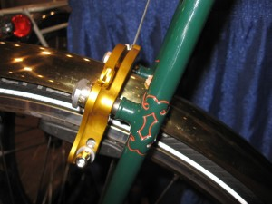 rear brake mount