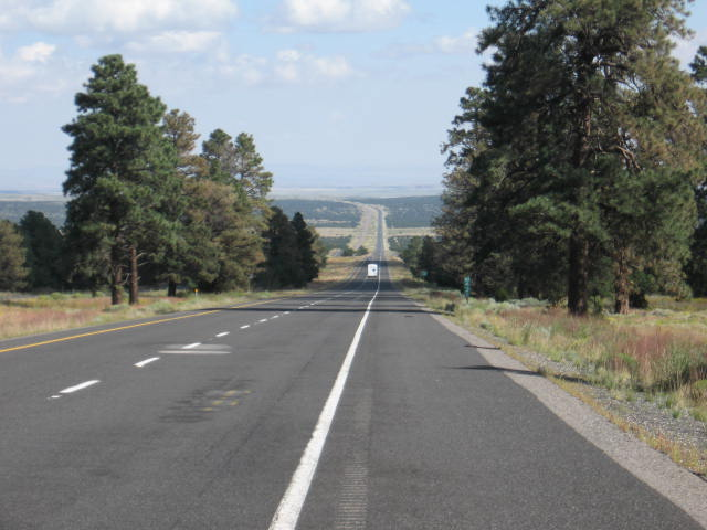North from Flagstaff