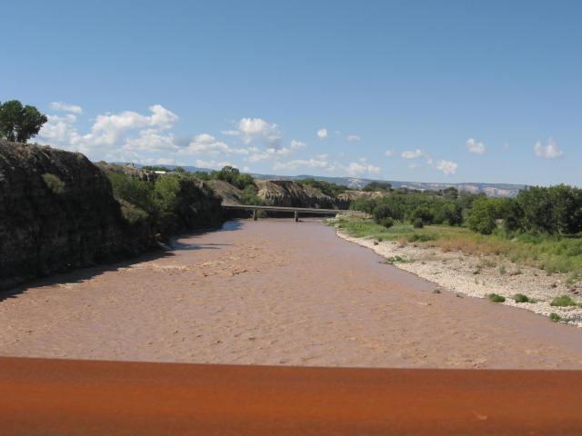 MUP Bridge looking back West