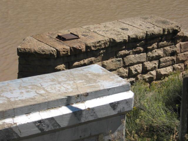 Old Bridge abutment