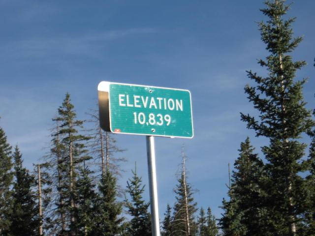 Elevation 10,839
