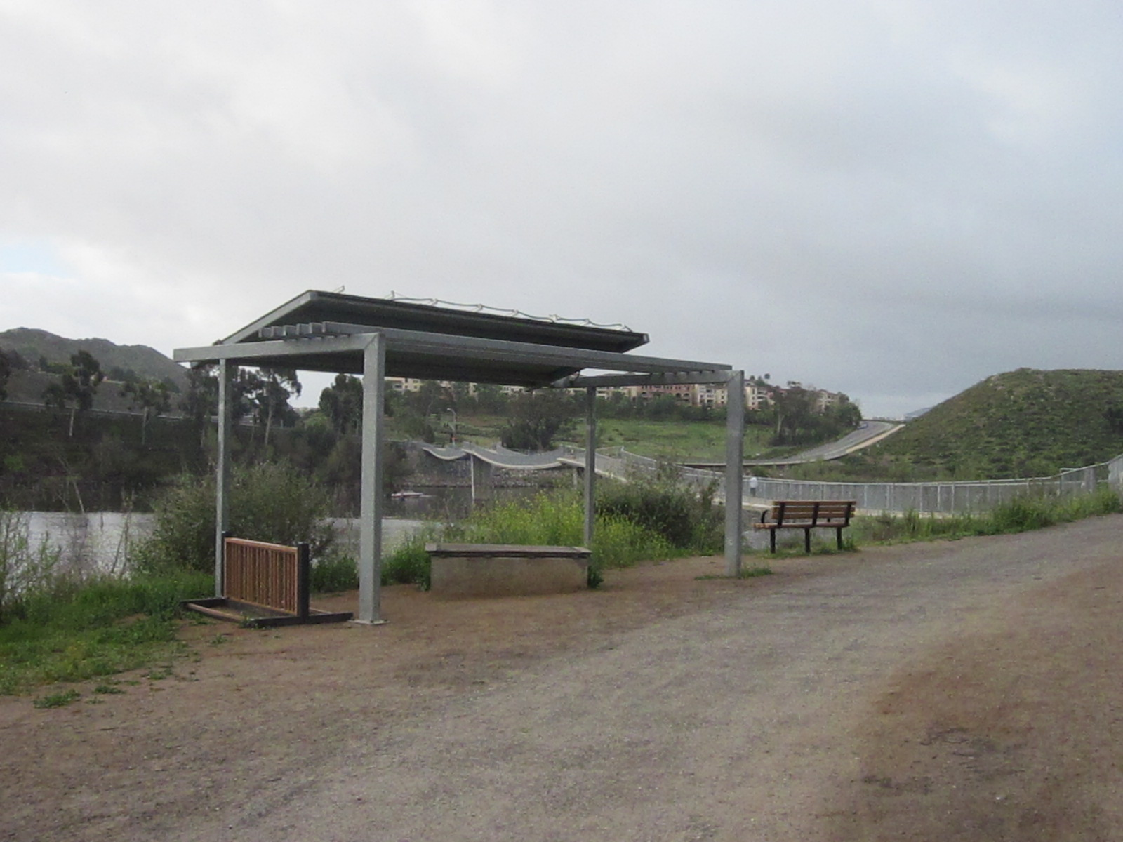 Shelter at Lake Hodges