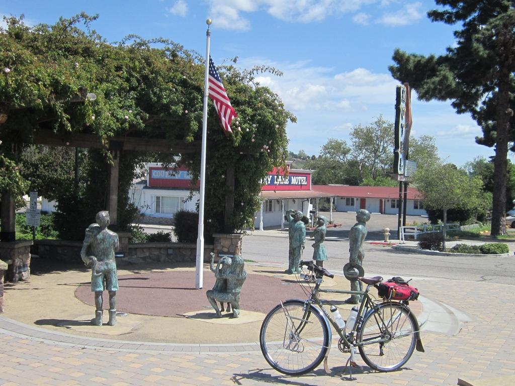 Buellton Salute to American Flag