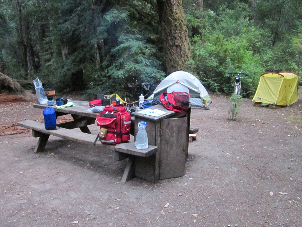 Big Basin Campsite